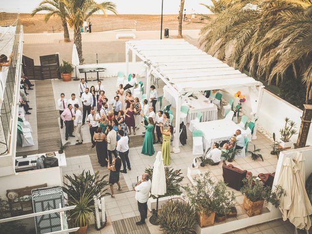 La boda de Jose y Esmeralda en Mar De Cristal, Murcia 43