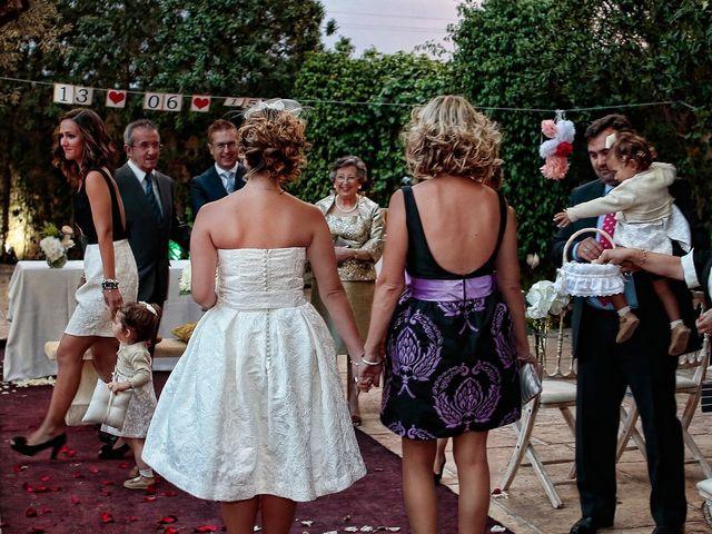 La boda de Lolo y Gema en Alacant/alicante, Alicante 11