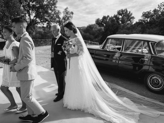 La boda de Alberto y María en Moraleja, Cáceres 40