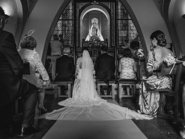 La boda de Alberto y María en Moraleja, Cáceres 45