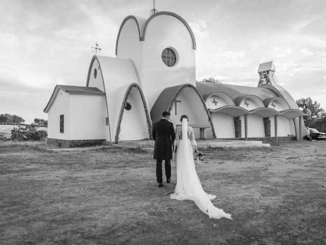 La boda de Alberto y María en Moraleja, Cáceres 73