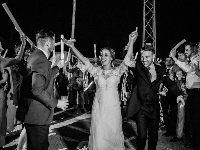 La boda de Alberto y María en Moraleja, Cáceres 94