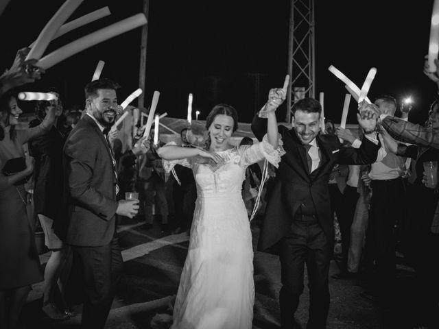 La boda de Alberto y María en Moraleja, Cáceres 95