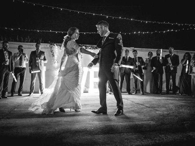 La boda de Alberto y María en Moraleja, Cáceres 99