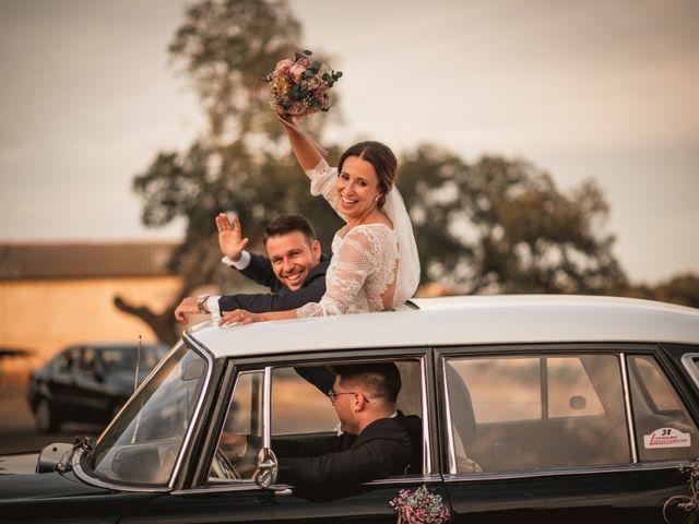 La boda de Alberto y María en Moraleja, Cáceres 76