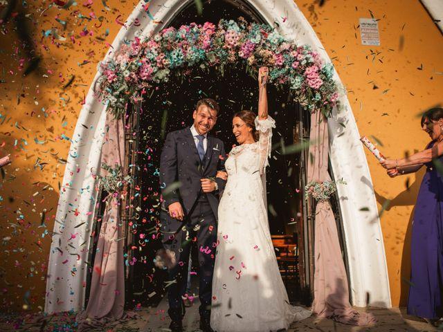 La boda de Alberto y María en Moraleja, Cáceres 50