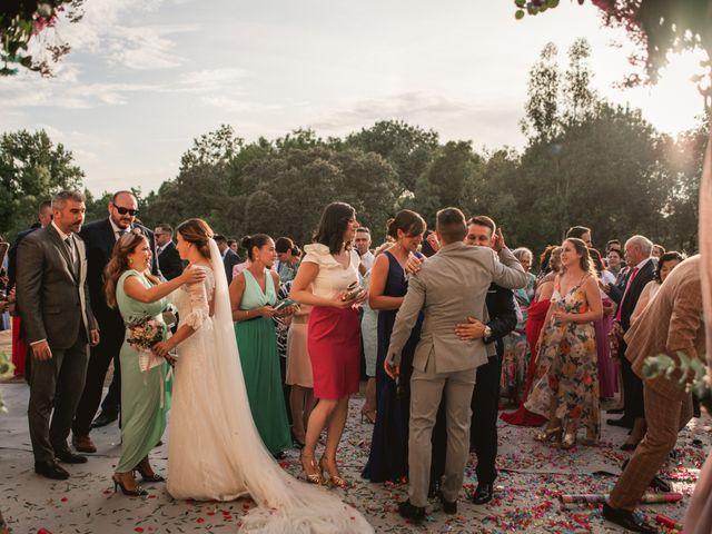 La boda de Alberto y María en Moraleja, Cáceres 52