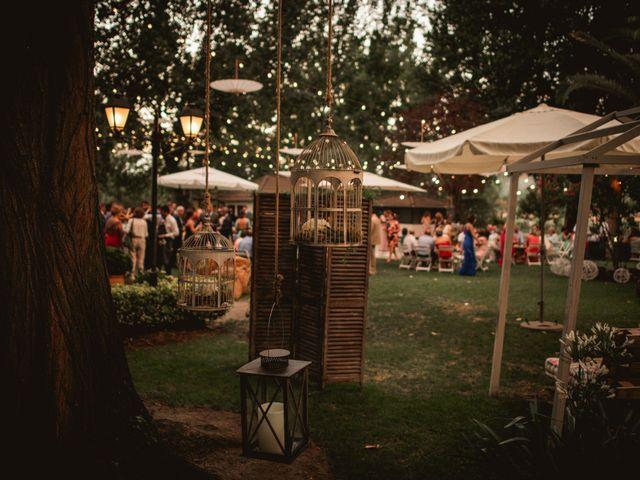 La boda de Alberto y María en Moraleja, Cáceres 78