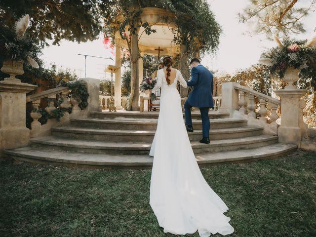 La boda de Fernando y Paloma en Beniarbeig, Alicante 20