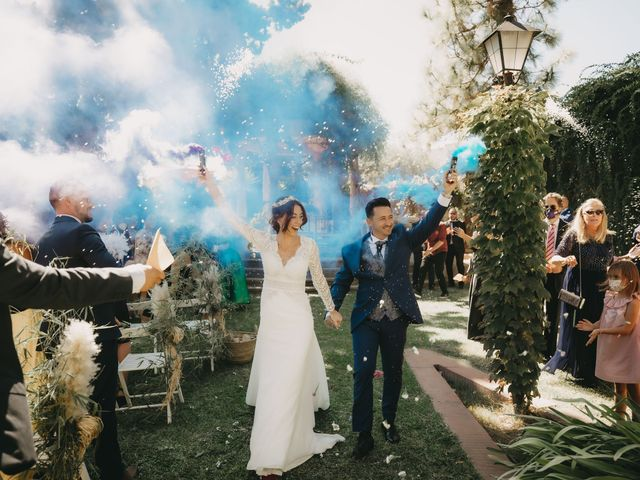 La boda de Fernando y Paloma en Beniarbeig, Alicante 25