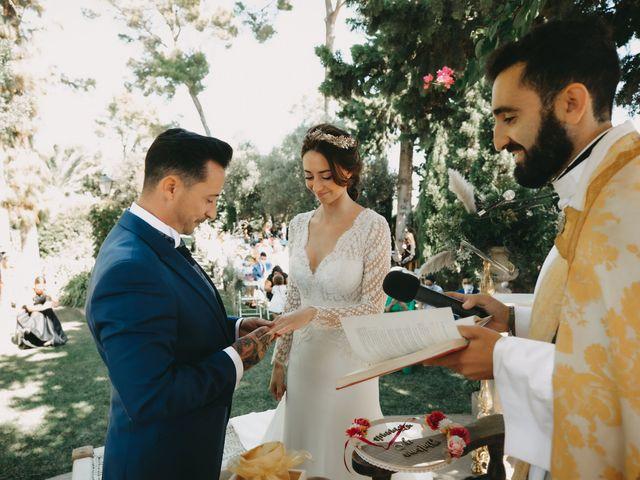 La boda de Fernando y Paloma en Beniarbeig, Alicante 23