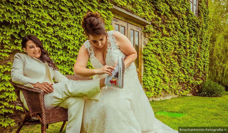 La boda de Jess y Iria en Nigran, Pontevedra