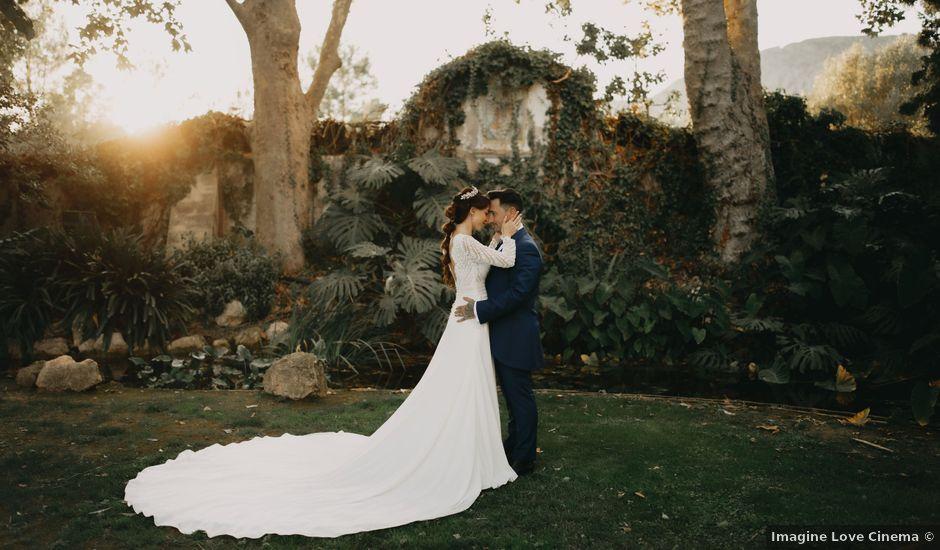 La boda de Fernando y Paloma en Beniarbeig, Alicante
