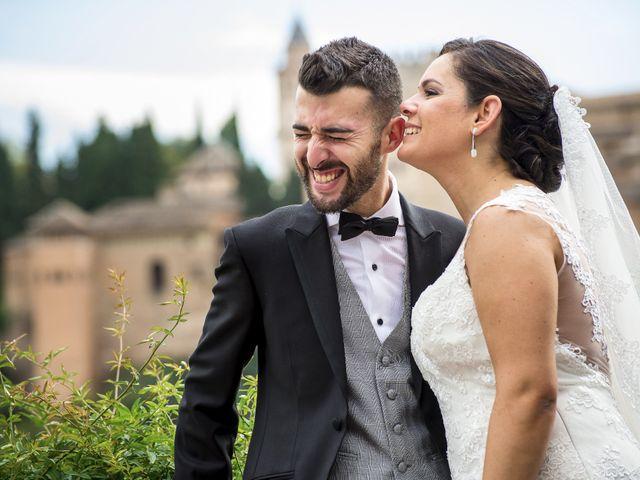 La boda de David y Leticia en Otura, Granada 13