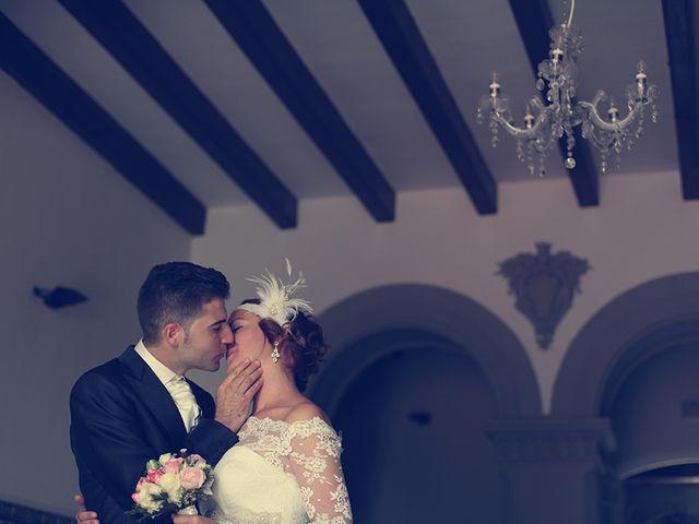La boda de Rebeca y Raúl