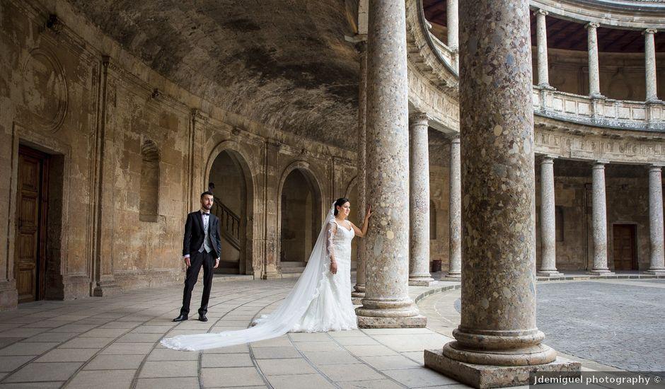La boda de David y Leticia en Otura, Granada
