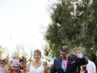 La boda de Virginia Bedmar y Christian Moreno 1