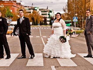 La boda de Candi y Rober