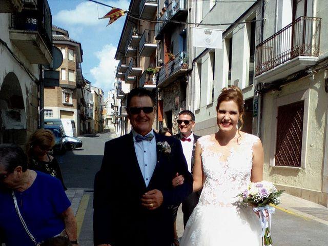 La boda de Edu y Angels en Mora D'ebre, Tarragona 1