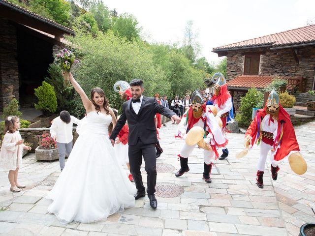 La boda de Manuel y Erica en Xinzo De Limia, Orense 36