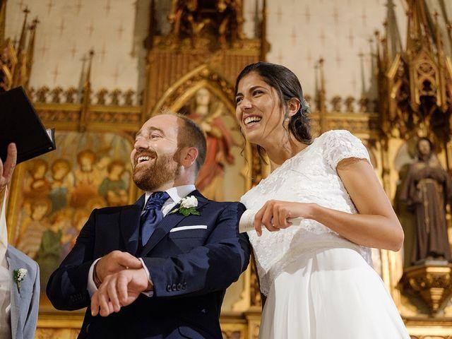 La boda de Alba y Edu