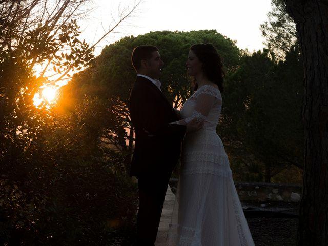 La boda de Ángel y Emérita en L' Olleria, Valencia 20