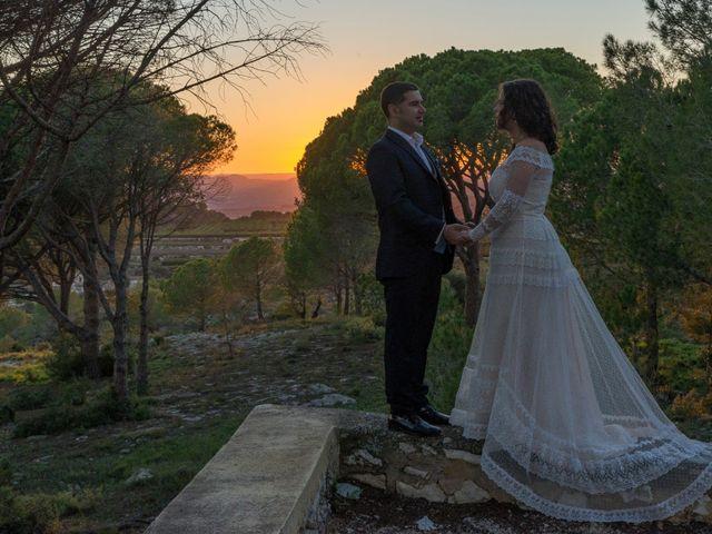 La boda de Ángel y Emérita en L' Olleria, Valencia 21