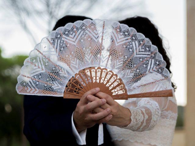 La boda de Ángel y Emérita en L' Olleria, Valencia 1