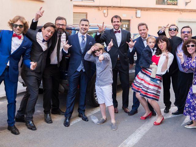 La boda de Ángel y Emérita en L' Olleria, Valencia 25