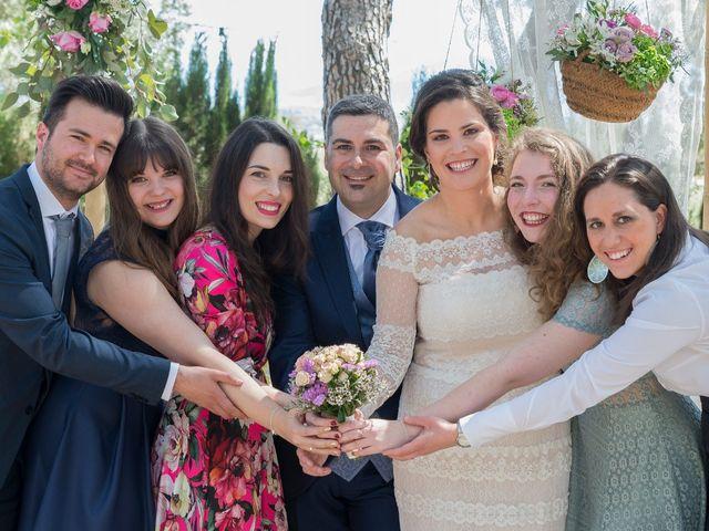 La boda de Ángel y Emérita en L' Olleria, Valencia 37