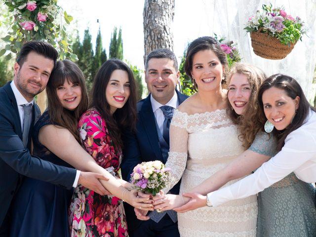 La boda de Ángel y Emérita en L' Olleria, Valencia 38