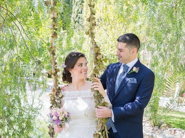 La boda de Ángel y Emérita en L' Olleria, Valencia 39