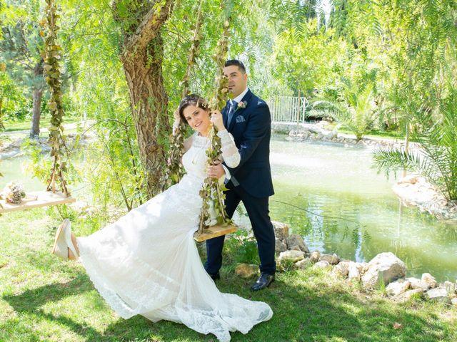 La boda de Ángel y Emérita en L' Olleria, Valencia 40