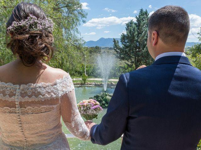 La boda de Ángel y Emérita en L' Olleria, Valencia 41