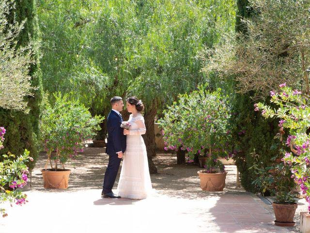 La boda de Ángel y Emérita en L' Olleria, Valencia 42