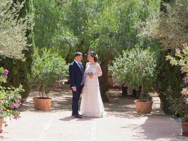 La boda de Ángel y Emérita en L' Olleria, Valencia 43
