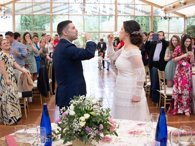 La boda de Ángel y Emérita en L' Olleria, Valencia 44