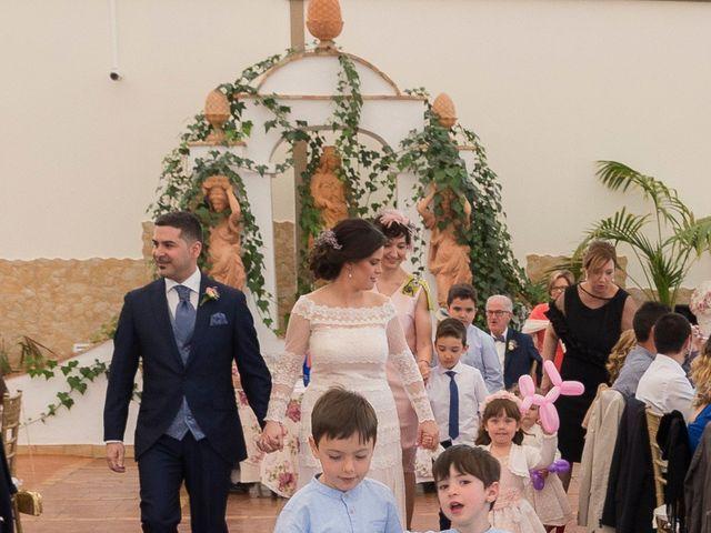 La boda de Ángel y Emérita en L' Olleria, Valencia 45