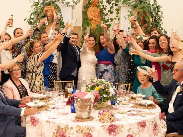 La boda de Ángel y Emérita en L' Olleria, Valencia 46