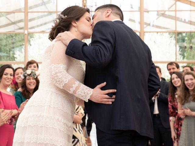 La boda de Ángel y Emérita en L' Olleria, Valencia 51