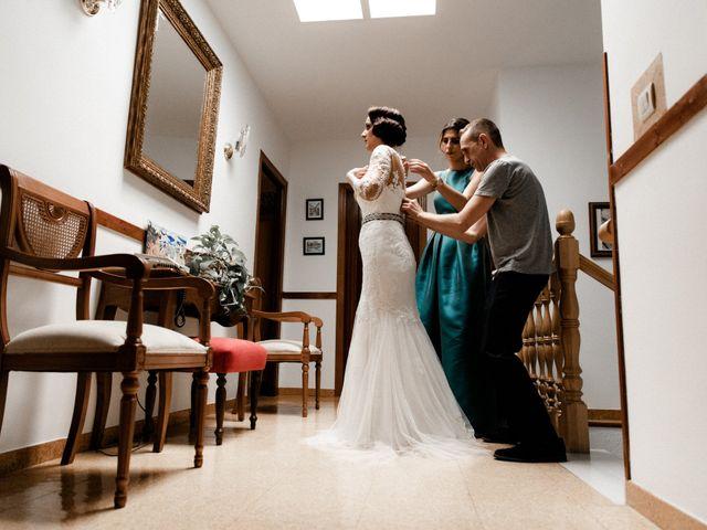 La boda de Francisco y Natalia en Bienvenida, Badajoz 10