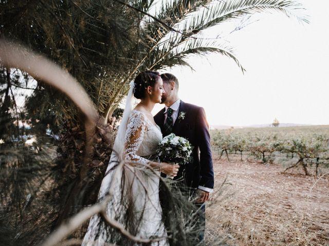 La boda de Francisco y Natalia en Bienvenida, Badajoz 79