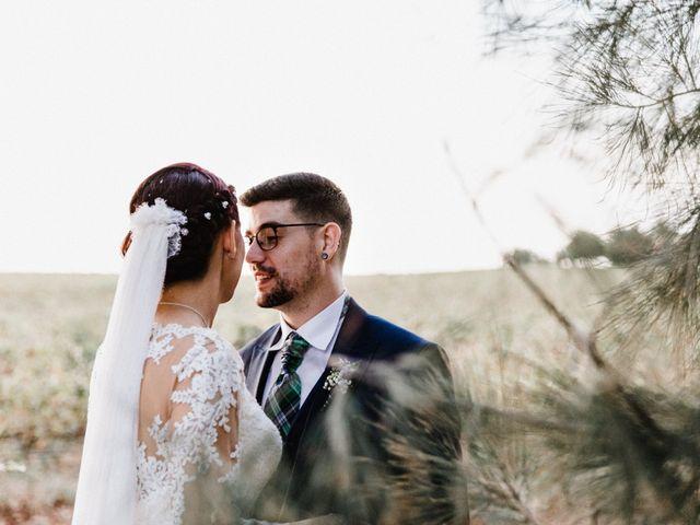 La boda de Francisco y Natalia en Bienvenida, Badajoz 80