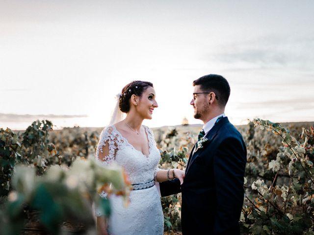 La boda de Francisco y Natalia en Bienvenida, Badajoz 86