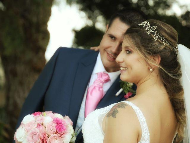 La boda de Virginia Bedmar y Christian Moreno