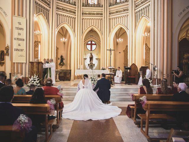 La boda de Cristóbal y Patricia en Cartama, Málaga 26