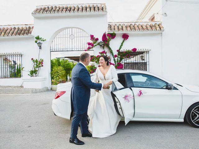 La boda de Cristóbal y Patricia en Cartama, Málaga 35