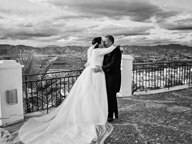 La boda de Cristóbal y Patricia en Cartama, Málaga 1