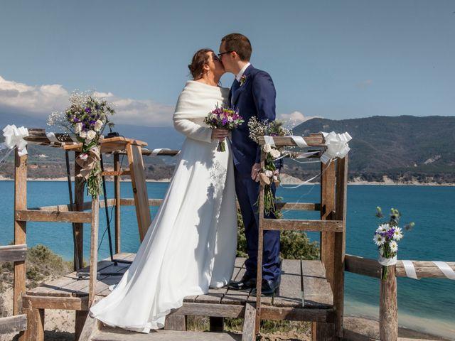 La boda de Adrián y Patricia en Morillo De Tou, Huesca 16