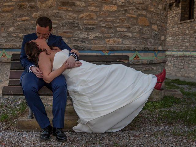 La boda de Adrián y Patricia en Morillo De Tou, Huesca 18